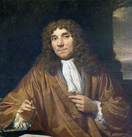 Anthony Leeuwenhoek (1632-1723)