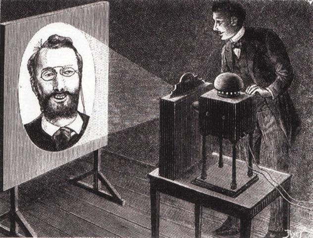 Invención de la 'fotografía parlante'