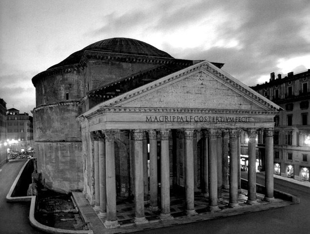 Pantheon donated to the pope