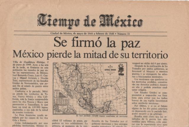 México: Tratado de Guadalupe Hidalgo