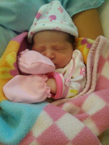 Nacimiento de mi primera sobrina
