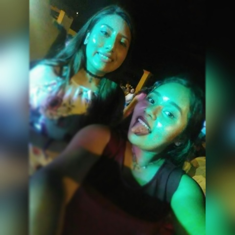 Fiesta con mi hermana