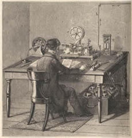 Primer transmisión telegrafica