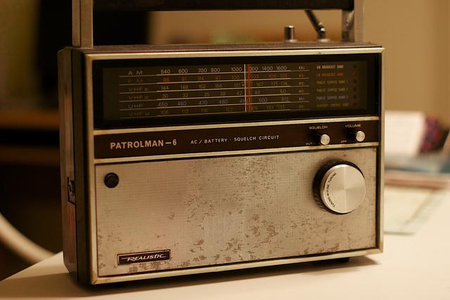 Primer transmisión de radio