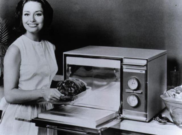 invencion del horno microondas