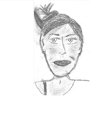 Post On Facebook Of Self Portrait Of Patients - Tina R.