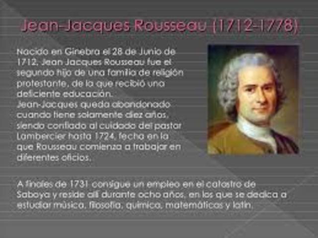 Rousseau(1712-1778)