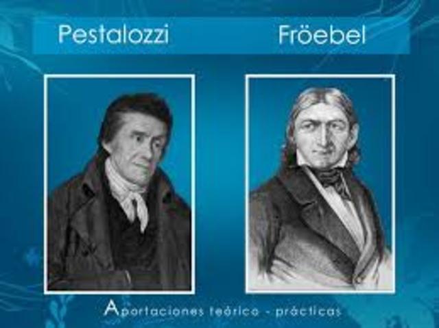 Pestalozzi, Tiedemann,Froebel