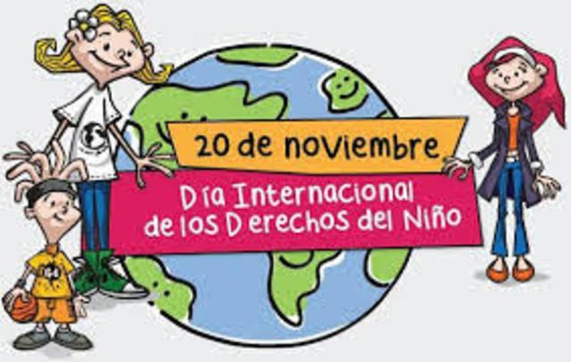 la fecha especial de los derechos del niño