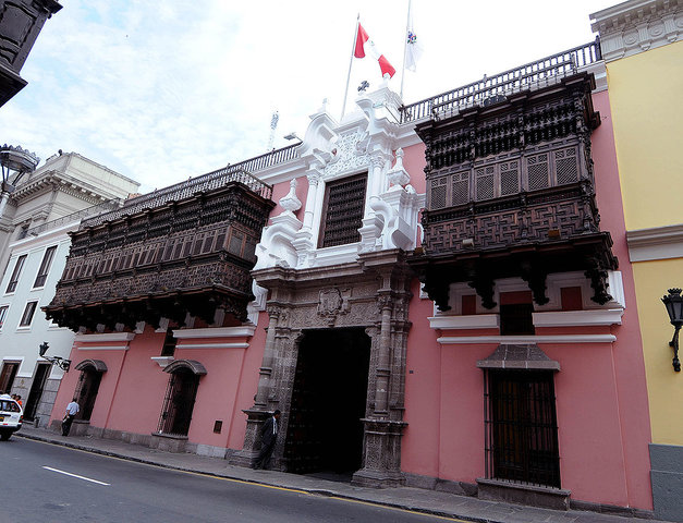 PALACIO DEL MARQUES TORRE TAGLE - LIMA