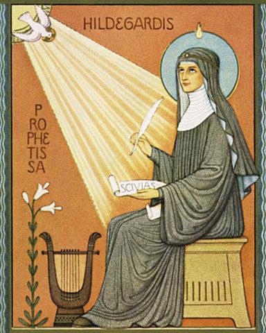 Abbess Hildegard of Bingen