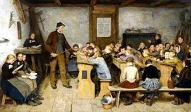 Educación Europea siglo XVIII