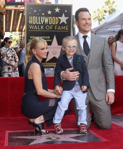 Chris Pratt Receives Hollywood Walk of Fame Star