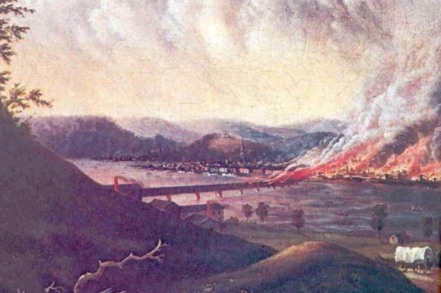 100th anniversary of the great fire of 1845