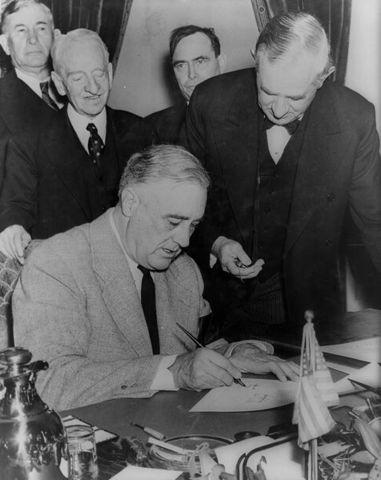 FDR Dies, Truman becomes President