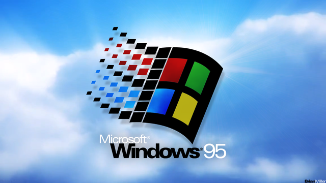 Llegada de Windows 95 (1995)