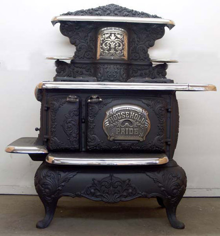 primera estufa eléctrica