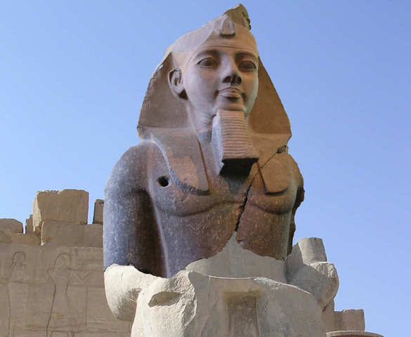 Ramesses II (also spelled as Ramses)
