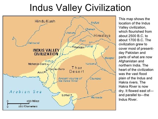 5.1: India: Harappan Civilization