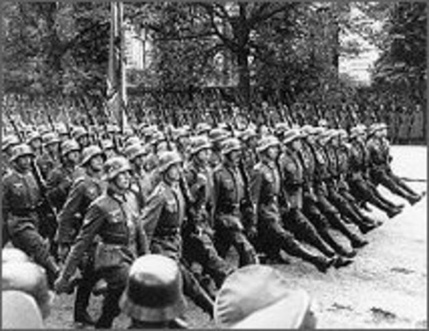 Poland is invade by Nazis and Soviets