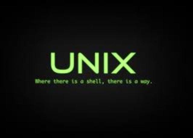 CREACIÓN DE UNIX (1970)