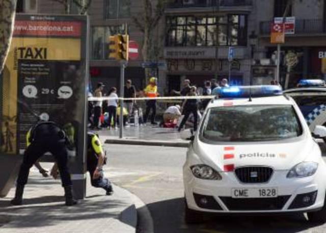 ATEMPTAT TERRORISTA A LES RAMBLES