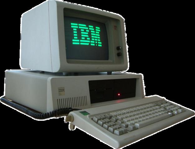 IBM  lanza el PC (1981)