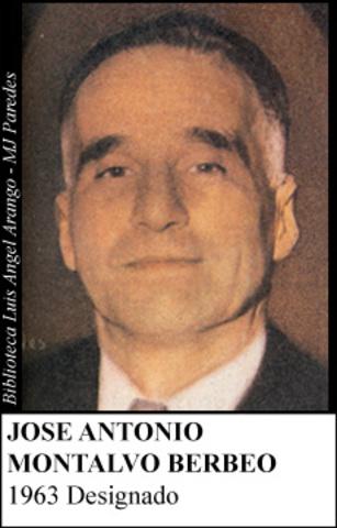 JOSE ANTONIO MONTALVO