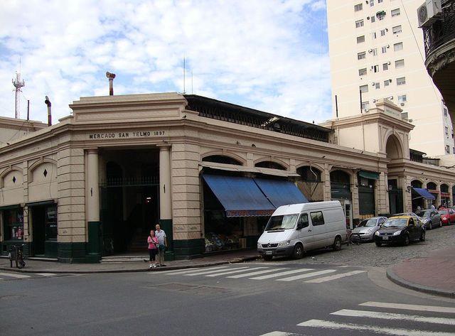 MERCADO SAN TELMO - BUENOS AIRES