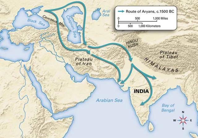 5.1: India: Aryan's arrival