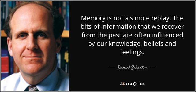 Daniel Schacter.