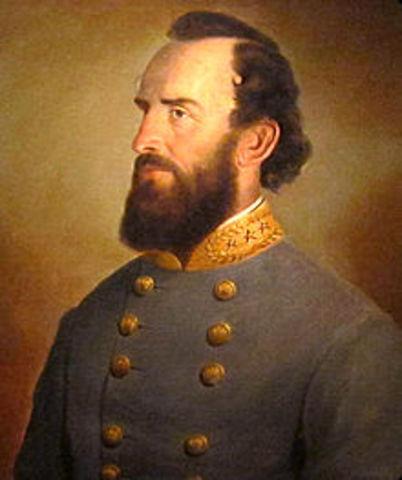 Stonewall Jackson is killed