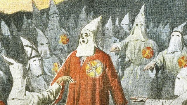 The Ku Klux Klan (KKK) is formed