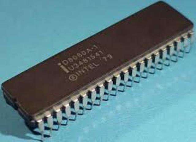 Intel lanza el Microprocesador 8080.