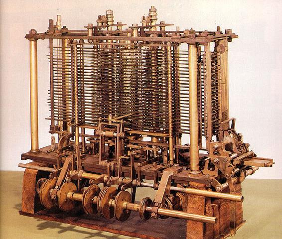 La máquina de Babbage.