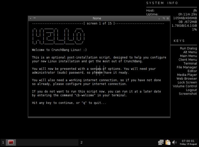 Aparece el primer SO Linux.