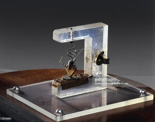Invención del Transistor.