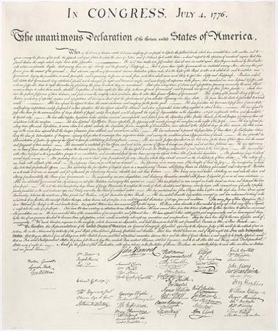 Declaració d'Independència dels Estats Units