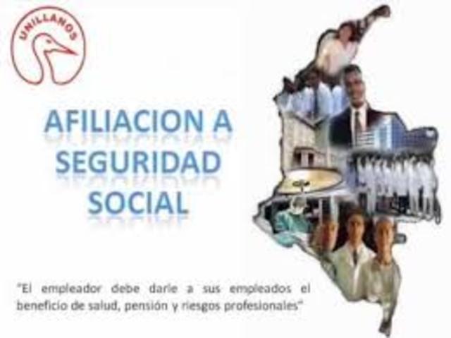 PERIODO DE ORGANIZACIÓN DEL SISTEMA DE SEGUROS SOCIALES