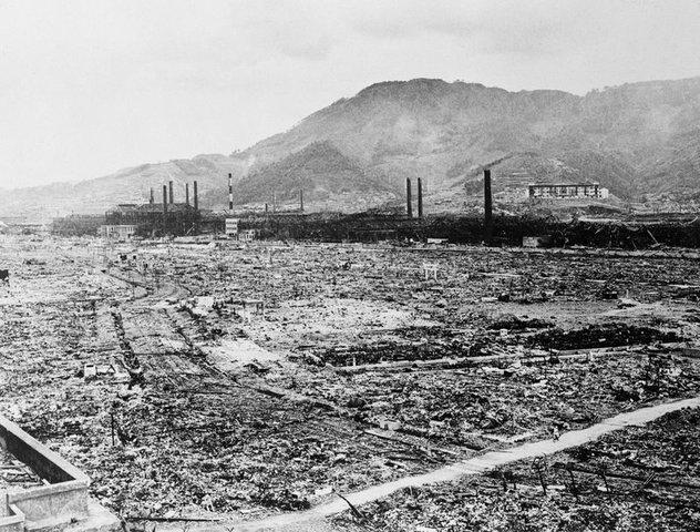 Atomic Bomb dropped on Nagasocki