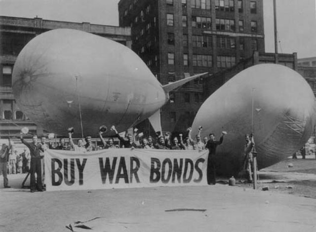 The fifth War Loan went over