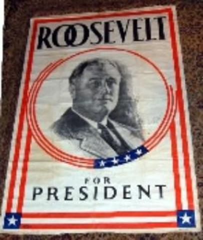 FDR leads the election