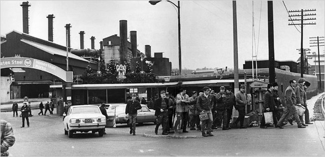 Pittsburgh industries laid off many workers