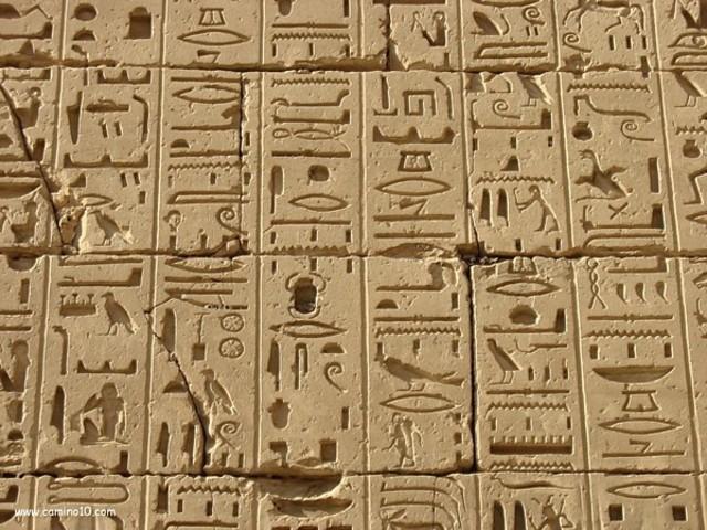 Ancient Egypt- Egyptian Writing