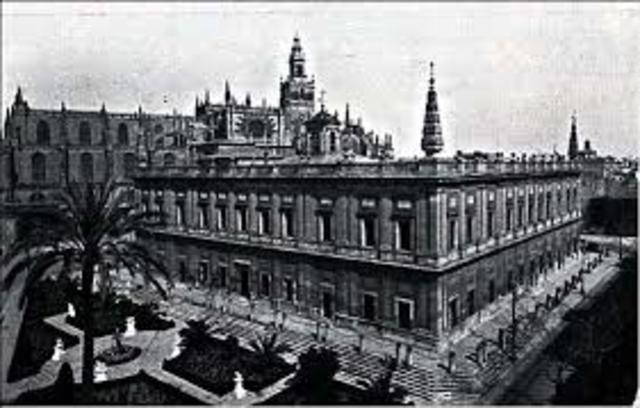 se crea la casa de contratación en Sevilla