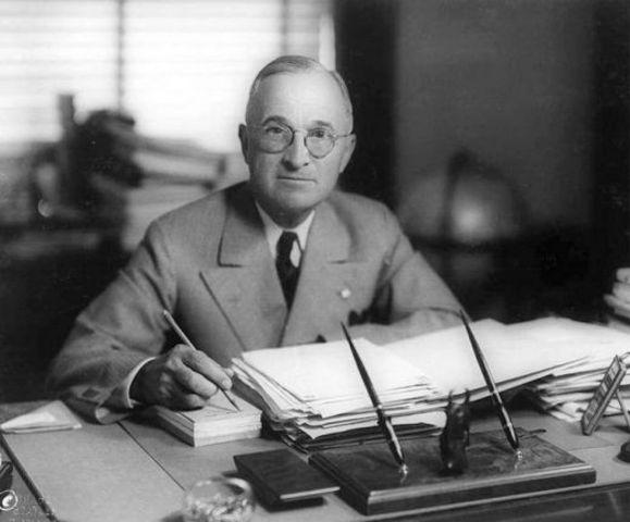 33rd President: Harry Truman