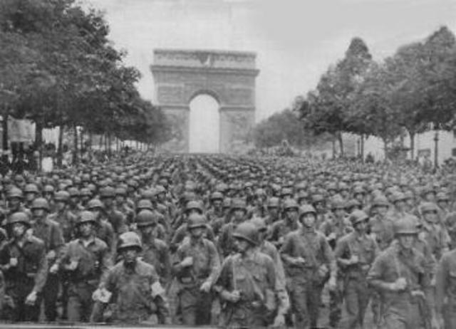 Allies Free Paris