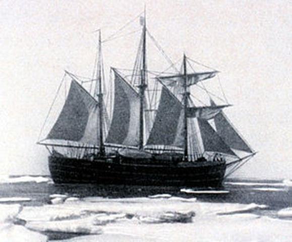 Scott sails to New Zealand