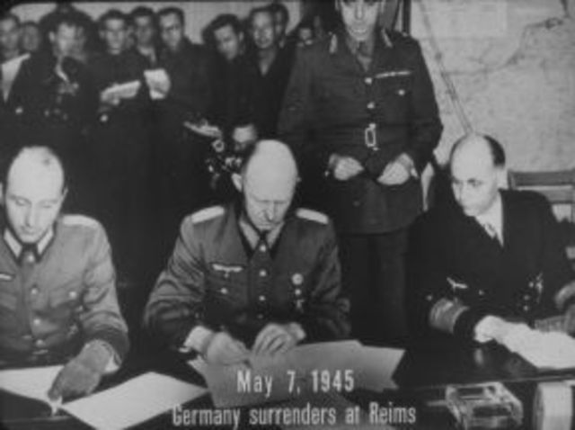 France Surrenders to Germany