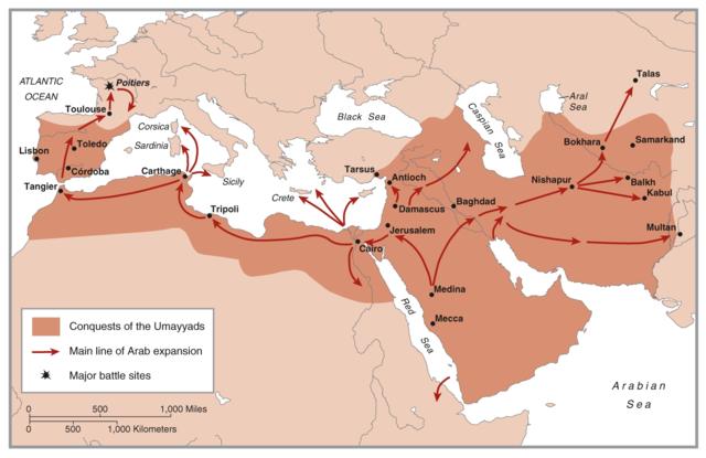 622 AD BEGGINING OF ISLAMIC EMPIRE